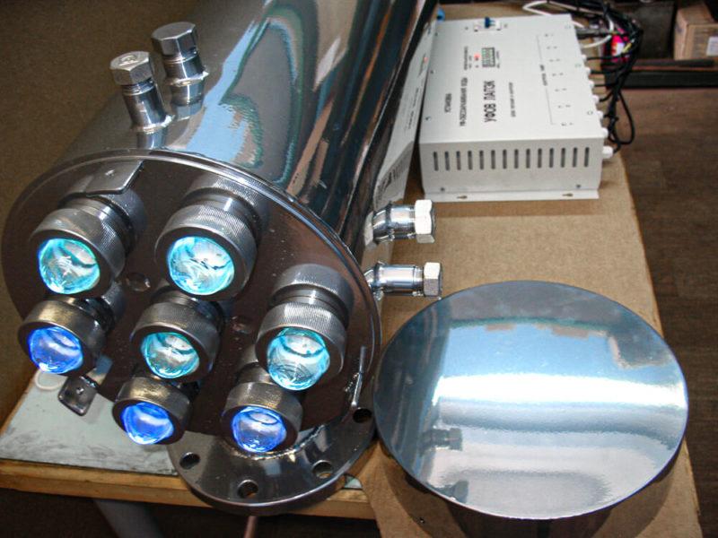 установка ультрафиолетового обеззараживания воды