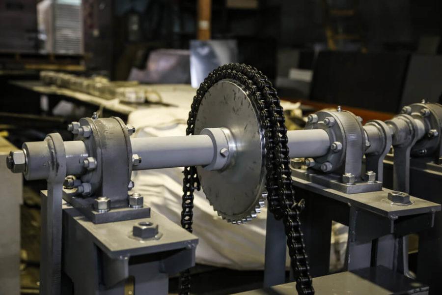 подъемный механизм моста